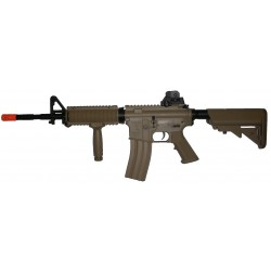 AEG G&G TR16 R4 COMMANDO DST BLOWBACK TAN