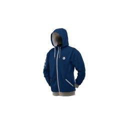 SWEAT SHIRT DYE CORNICE BLEU M