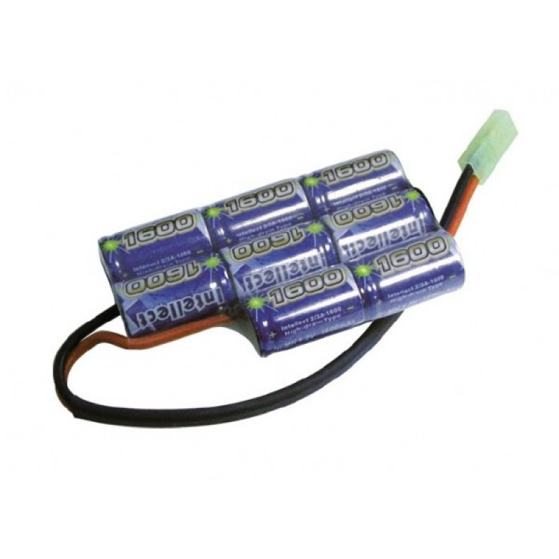 BATTERIE SWISS ARMS BY INTELLECT 9,6V 1600 MAH POUR BOITIER