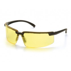 LUNETTES DE PROTECTION SWISS ARMS JAUNE ANTI-BUEE MONTURE NO
