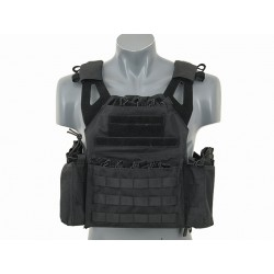 GILET PLATE CARRIER LIGHTWEIGHT NOIR