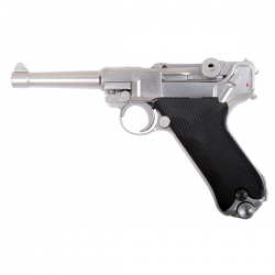 "PISTOLET WE P08 4"" CHROME"