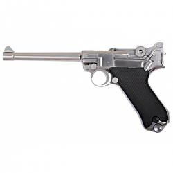 "PISTOLET WE P08 6"" CHROME"