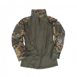 CHEMISE MILTEC WARRIOR DIGITAL WOODLAND XL