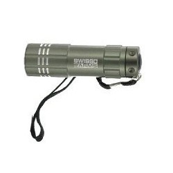 LAMPE FLASHLIGHT SWISS ARMS MINI GRISE