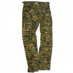 PANTALON MILTEC US BDU DIGITAL WOODLAND XL