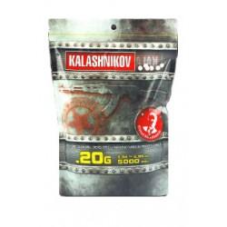 BILLES KALASHNIKOV 0.20 G PAR 5000 PCS