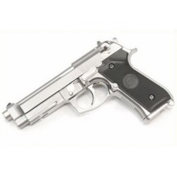 PISTOLET WE M9 A1 GEN 2 SILVER AVEC MALETTE