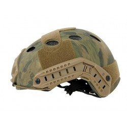 CASQUE FAST CHEAPER TYPE PJ A-TACS FG DE SIMULATION