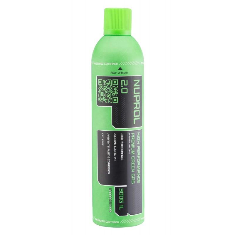 GAZ NUPROL 2.0 PRENUIM GREEN GAZ 1000 ML