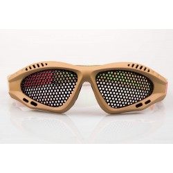 LUNETTES NUPROL GRILLAGEES TAN DE PROTECTION S