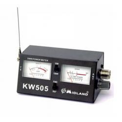 CONTROLEUR DE PUISSANCE MIDLAND WATTMETER KW505 SWR