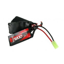 BATTERIE SWISS ARMS LIPO 11,1V 1200MAH 25C TRIPLE