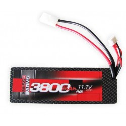 BATTERIE SWISS ARMS LIPO 11,1V 3800MAH 35C HARD CASE