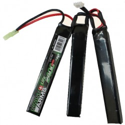 BATTERIE SWISS ARMS LIFE 9,9V 2.400MAH 20C STICK TRIPLE