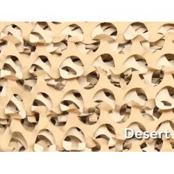 FILET EUROPARM DE CAMOUFLAGE DESERT 78M X 2,4M