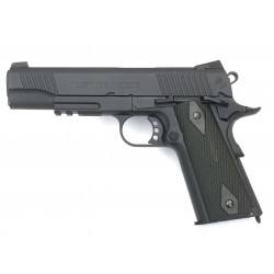 PISTOLET COLT 1911 RAIL BLACKNED CO2 BLOWBACK