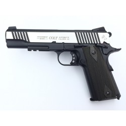 PISTOLET COLT 1911 RAIL DUAL TONE CO2 BLOWBACK