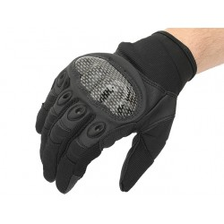 GANTS MILITARY COMBAT BLACK CARBON XL
