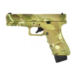 PISTOLET APS S17 V2 ACP CO2 BLOWBACK MULTICAM