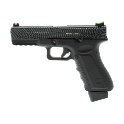 PISTOLET APS S17 V2 ACP CO2 BLOWBACK BLACK CARBONE