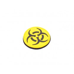 PATCH BIOHAZARD JAUNE
