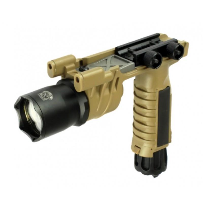 LAMPE LED S&T M910 AVEC POIGNEE TAN