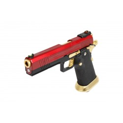 PISTOLET GBB AW CUSTOM HX1004 SPLIT RED