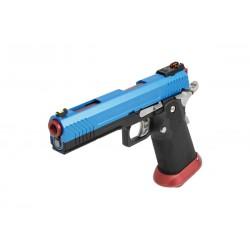 PISTOLET GBB AW CUSTOM HX1105 FULL BLUE