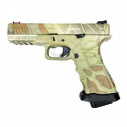 PISTOLET APS S17 V2 ACP CO2 BLOWBACK KRYPTEK MANDRAKE