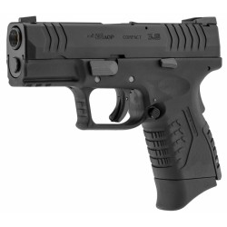 PISTOLET WE XDM 3.8 NOIR METAL GBB
