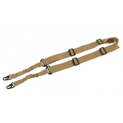 SANGLE 2 PT BUNGEE SLING TAN