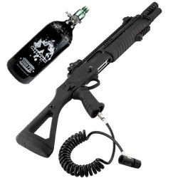 PACK FUSIL A POMPE HPA BO FABARM STF-12 COMPACT NOIR