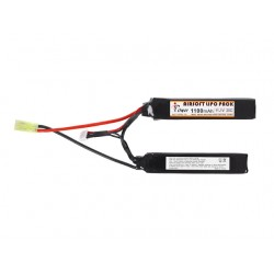 BATTERIE LIPO 11.1V 1100MAH DOUBLE STICK