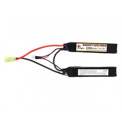 BATTERIE LIPO 7.4V 2200MAH DOUBLE STICK