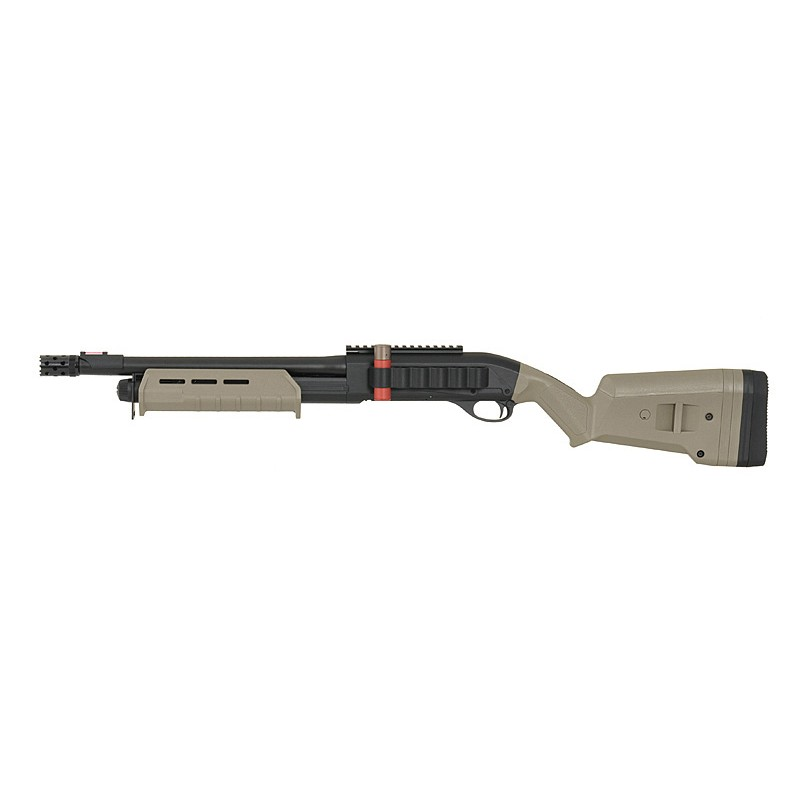 FUSIL A POMPE SPRING CYMA  355 TACTICAL DARK EARTH