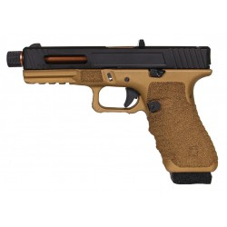 PISTOLET SECUTOR GLADIUS 17 BRONZE CO2/GAZ BLOWBACK