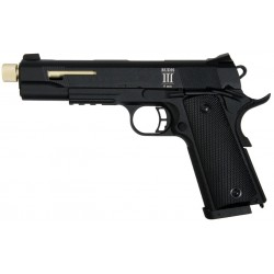 PISTOLET SECUTOR RUDIS III OR CO2/GAZ BLOWBACK