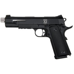 PISTOLET SECUTOR RUDIS XI ARGENT CO2/GAZ BLOWBACK