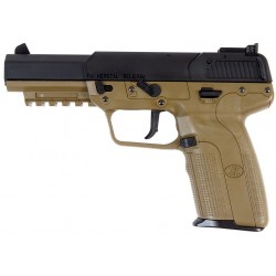 PISTOLET FN FIVE-SEVEN DARK EARTH CO2 BLOWBACK