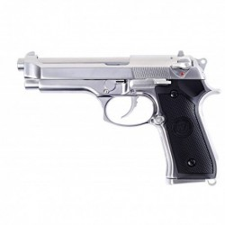 PISTOLET WE M92 CHROME