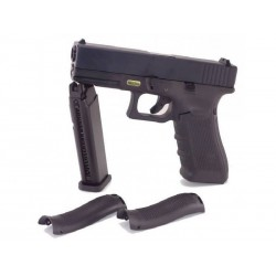 PISTOLET WE 17.4 BLACK BLOWBACK GAZ