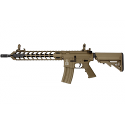 AEG COLT M4 AIRLINE MOD A FULL METAL TAN 1,2J