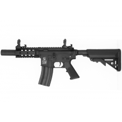 AEG COLT M4 COMPACT FORCES FULL METAL BLACK 1,2 J