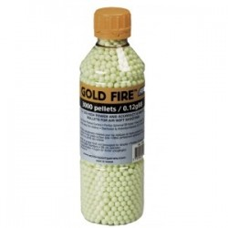 BILLES ASG GOLD FIRE 0.12G - 3000 PCS. IN BOTTLE