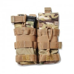 POCHE 5.11 DOUBLE AR BUNGEE MULTICAM