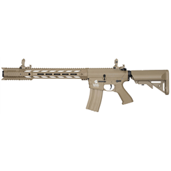 AEG LT-25 G2 M4 SPR INTERCEPTOR TAN PACK COMPLET