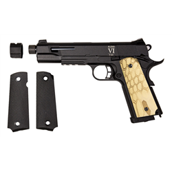 PISTOLET SECUTOR RUDIS CUSTOM VI NOMAD CO2/GAZ BLOWBACK