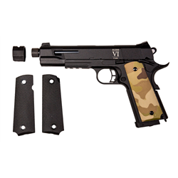 PISTOLET SECUTOR RUDIS CUSTOM VI MULTICAM CO2/GAZ BLOWBACK
