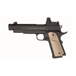 PISTOLET SECUTOR RUDIS MAGNA CUSTOM XII NOIR CO2/GAZ BLOWBACK